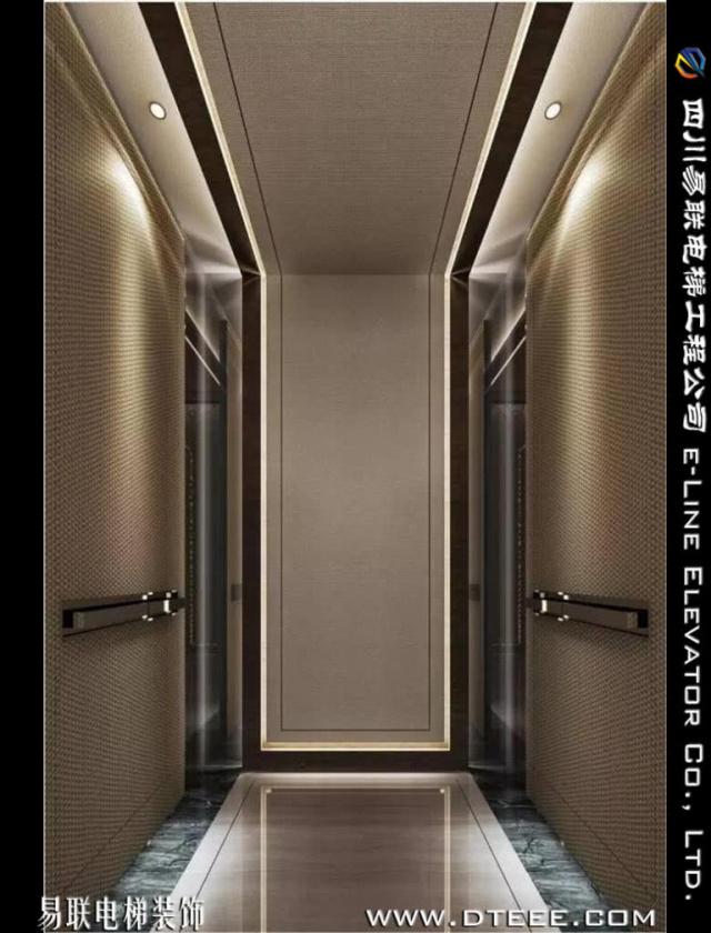 电梯装修轿厢装修YL-JX2693