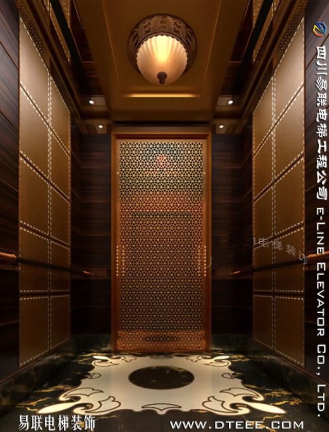 电梯装潢扶梯装修YL-JX1598